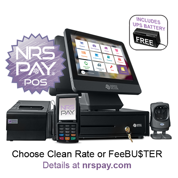 NRS PAY POS $699 WITH INTEGRATED CC PROCESSING